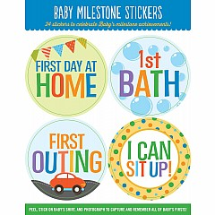 Baby Monthly Milestone Stickers - Achievements