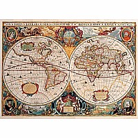 Old World Map 1000 Piece Jigsaw Puzzle