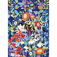 Garden Cat 1000 Piece Jigsaw Puzzle
