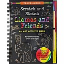 Scratch & Sketch Llamas & Friends (Trace-Along)
