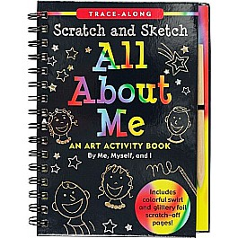 Scratch & Sketch All About Me (Trace-Along)