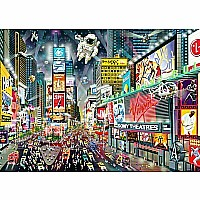Times Square 1000 Piece Jigsaw Puzzle