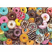 Donuts 1000 Piece Jigsaw Puzzle
