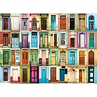 All The Doors 1000 Piece Jigsaw Puzzle