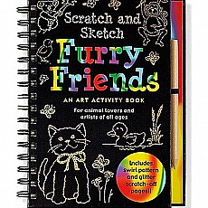 Scratch and Sketch Furry Friends