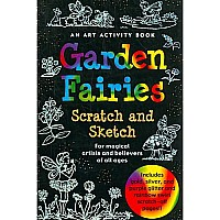 Garden Fairies [With Scratch Off Pencil] [ GARDEN FAIRIES [WITH SCRATCH OFF PENCIL] ] By Peter Pauper Press( Author) on Apr, 01,