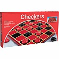 Checkers With Folding Board