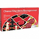 Checkers/ Chess/ Backgammon (folding Board)