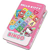 Hello Kitty Bingo In A Tin