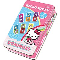 Hello Kitty Dominoes In A Tin