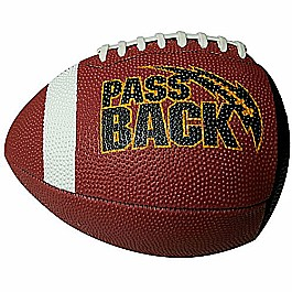 Passback Football - Junior Size (13 and Under) - Rubber