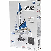 PlaySTEAM Mini Voyager 280 Sailboat in Red