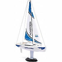 PlaySTEAM Mini Voyager 280 Sailboat in Blue