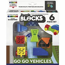 People Blocks Go Go Vehicles