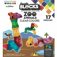 People Blocks Zoo Animals Clear