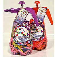 Party Pumper Twisty Balloon Pumping Station Purple OR Red