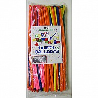 100 Biodegradable Twisty Balloons Refill Pack