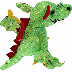 Finger Puppet - Dragon (Green)