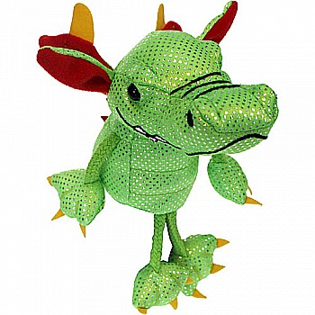 Finger Puppets - Dragon (Green)