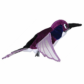 Finger Puppets - Hummingbird (Purple)