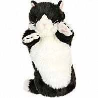 Cat (black  White) Puppets