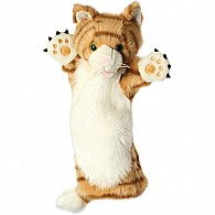 Cat Ginger Glove Puppet