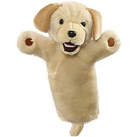 Labrador Yellow Glove Puppet