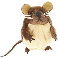 Finger Puppets - Mouse (Brown)