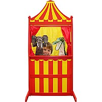 Wilberry Wood - 3 in 1 theatre - Red & Yellow