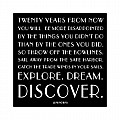 Explore Dream Discover Color Magnet