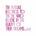 Beauty of Their Dreams - Eleanor Roosevelt Color Magnet