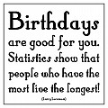 Quotable Birthdays are Good For You - Lorenzoni
