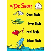 Dr. Seuss: ONE FISH TWO FISH RED FISH BLUE Book