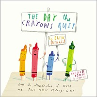 The Day the Crayons Quit HC Book