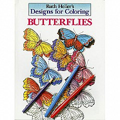 Designs for Coloring: Butterflies