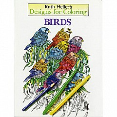 Designs for Coloring: Birds