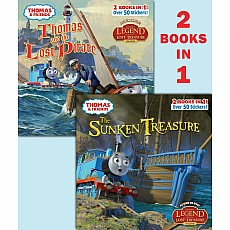 Thomas and the Pirate/ The Sunken Treasure (Thomas & Friends)