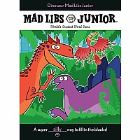 Dinosaur Mad Libs Junior