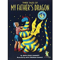 THREE TALES MY FATHER'S DRAGON HC Book