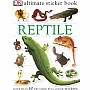 Ultimate Sticker Book: Reptile