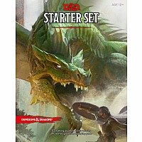Dungeons & Dragons Starter Set (Six Dice, Five Ready-to-Play D&D Characters With Character Sheets, a Rulebook, and One Adventur
