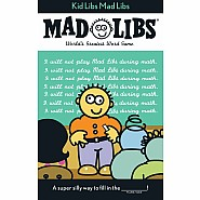Kid Libs Mad Libs