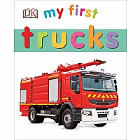DK My First Trucks Book