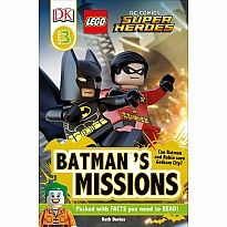 DK Readers L3: LEGO® DC Comics Super Heroes: Batman's Missions: Can Batman and Robin Save Gotham City?