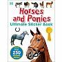 Ultimate Sticker Book: Horses and Ponies