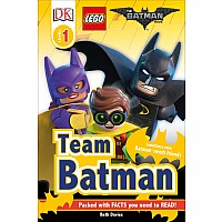 DK Readers L1: The LEGO Batman Movie Team Batman