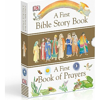 A First Bible Story Book and a First Book of Prayers Box Set