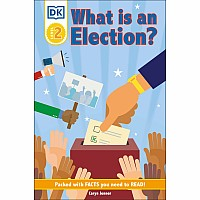 DK Reader Level 2: What Is an Election?