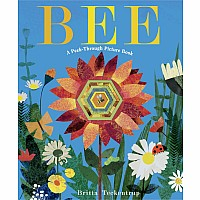 Bee: A Peek-Through Picture Book - Hardcover