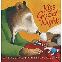 Kiss Good Night: Padded Board Book